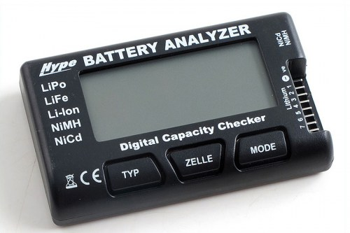 Hype Battery Analyzer Lipo-Checker