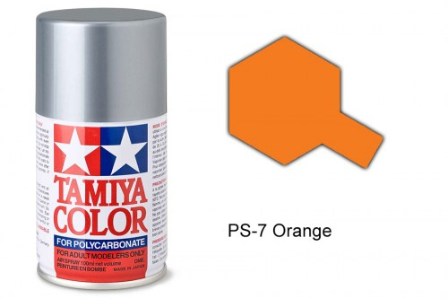 Tamiya Lexanfarbe PS-7 Orange 100ml